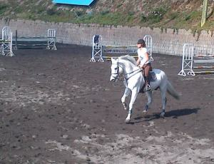 Riding at Rancho San Fransisco