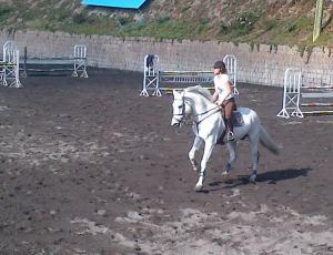 Riding at Rancho San Fransisco