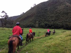 Zuleta Horse Ride Rebecca Adventure Travel